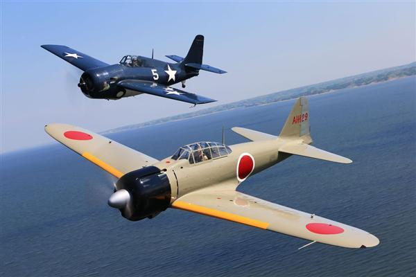 【いまも飛ぶ大戦機】「ゼロと空戦してはならない」 米軍が恐れた零戦の空戦性能とは? [無断転載禁止]©2ch.netYouTube動画>22本 ->画像>39枚