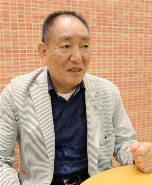26日、ソウルでインタビューに応じる奥茂治氏