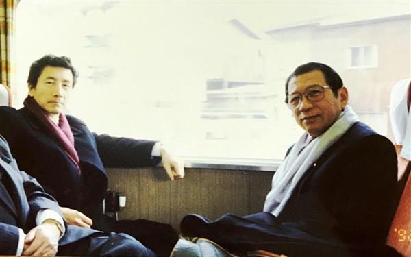話の肖像画】元衆院議長・綿貫民...