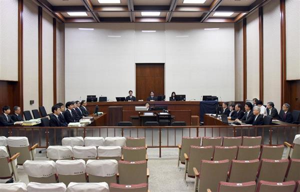 東電強制起訴初公判】元会長ら無...