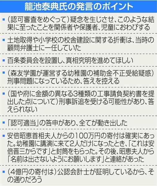 【森友学園問題】「すべては大阪府の認可適当答申から」大阪府議会、籠池前理事長を参考人招致。補助金不正には答えず (126)