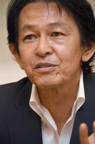 民進党の松野頼久衆議院議員=11日午後、東京・永田町(宮川浩和撮影)
