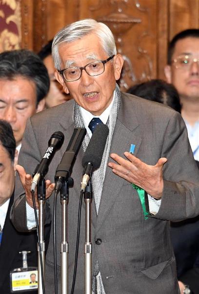 加戸守行・前愛媛県知事