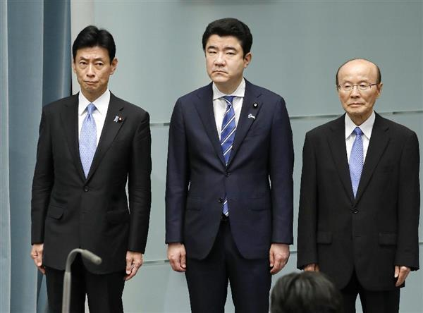 内閣改造】内閣人事局長に杉田和...