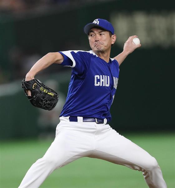 プロ野球】中日・岩瀬仁紀投手が...