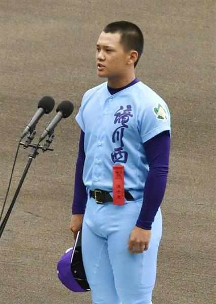 滝川西高校野球部の 年メンバーや出身中学!新 …