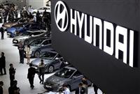 中国での不振が韓国の自動車メーカーに打撃を与えている(AP)