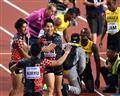 大会史上初 400メートルリレーで日本が銅メダル ボルトは途中棄権