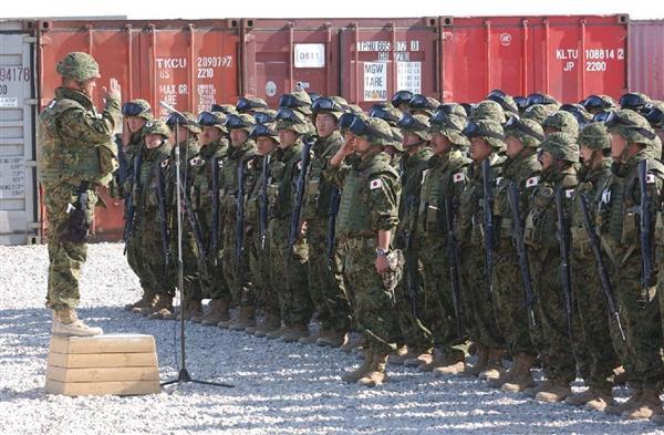 イラク人道復興支援活動に参加した自衛隊員にとっても、不安の種の1つは軍法会議の不在だった(頼光和弘撮影)