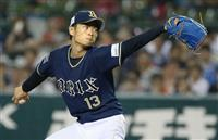 【プロ野球】オリックス新人・山岡がプロ初完封 西0-オ9