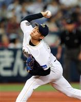 【プロ野球】オリ山岡「ゼロから行く」 粘りの投球光る