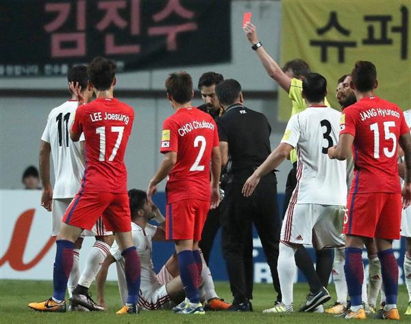 【サッカー】韓国「危機感」いっぱい、W杯出場に黄信号…頼みは犬猿のイランか 韓国メディア、日本と対比も[9/03] [無断転載禁止]©2ch.net->画像>8枚