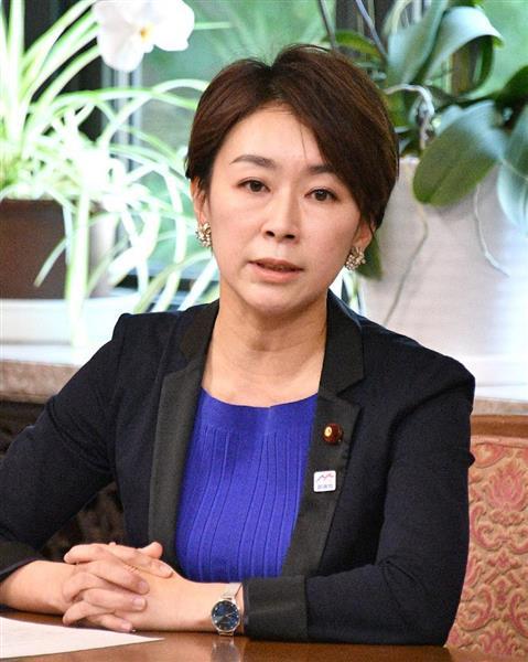 民進党の山尾志桜里元政調会長(斎藤良雄撮影)