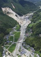 【九州北部豪雨】流入土砂はヤフオクD6個分1千万立方メートル超 国交省調査