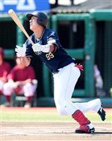 【プロ野球】オリ杉本、プロ初安打が先頭打者弾