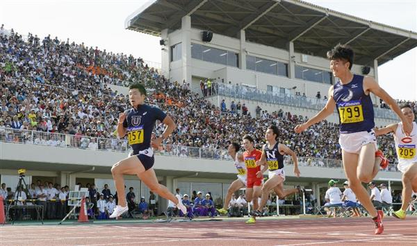 【陸上】桐生に敗れた多田修平「目の前で9秒台を出されてめちゃくちゃ悔しい」 自己ベスト10秒07も「うれしくない」