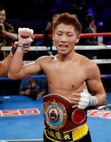 ボクシング】井上尚弥、TKOで6度...