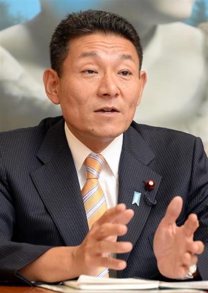 民進党の笠浩史、後藤祐一衆院議...