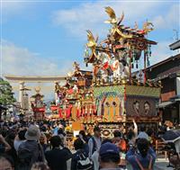 豪華屋台、人形も妙技 岐阜で秋の高山祭始まる