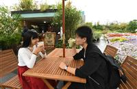 【うめきたガーデンFINAL】カフェスタンドがオープン 本格コーヒーでくつろぎの一時