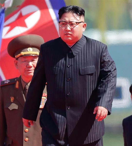 トランプ氏と、正恩氏(写真)による米朝激突は避けられないか(AP)