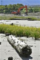 九州北部豪雨の流木、7割なお未回収 2次災害の恐れも