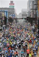 【水戸黄門漫遊マラソン】雨中の号砲響く! 上位100位までを産経ニュースに掲載