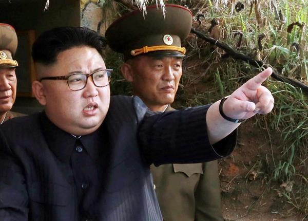 北朝鮮の金正恩朝鮮労働党委員長(ロイター)