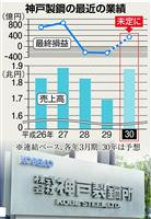 【神戸製鋼データ改竄】打撃は来期本格化、資産切り売りも