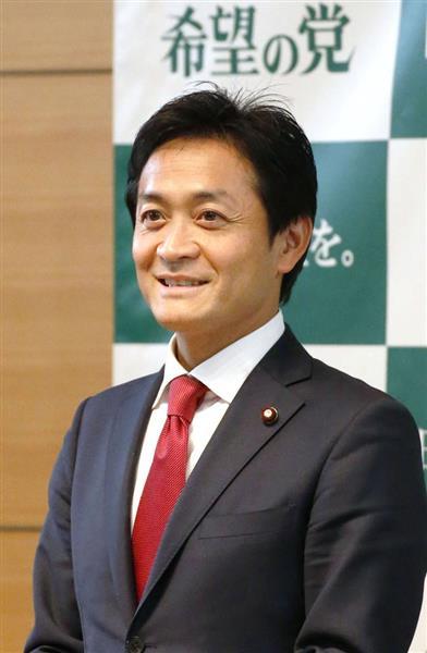 希望の党・玉木雄一郎共同代表 ...