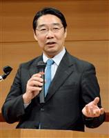 文科省の前川喜平前事務次官=岡山市