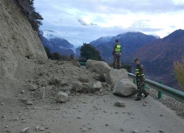 チベット自治区でM6・9 中国地震...
