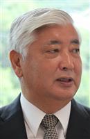 中谷元・元防衛相、憲法9条改正は国民の理解が必要