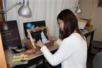 【大人の遠足】手軽に楽しむ豪州発の芸術 さいたま市のチョークアート教室「白墨堂」