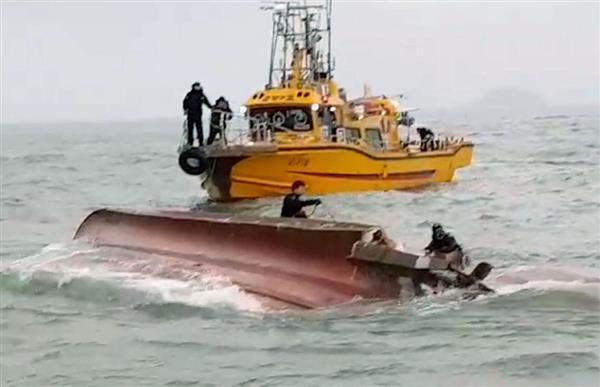 【韓国】釣り船が給油船と衝突・転覆、13人死亡[12/04] YouTube動画>2本 ->画像>14枚
