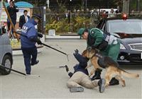 シャンシャン公開を前に 上野動物園でテロ対処訓練