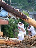 【取材の現場から】九州北部豪雨 止まない雨に「不気味さ」、土砂・濁流言葉失い