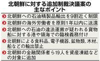 【北朝鮮情勢】追加制裁決議案で中国は賛否明言せず  ICBM発射「米国にも責任」との立…