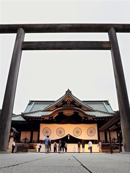 朝鮮半島出身の英霊も祀られている靖国神社