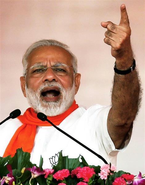モディ首相率いるインドが、中国の前に立ちはだかった(ロイター)