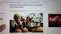 【エンタメよもやま話】スマホ禁止、国歌・シャンソン歌いなさい! フランス「小・中学で合…