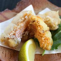 【料理と酒】ウロコがカリカリ、サクサクに アマダイの松笠揚げ
