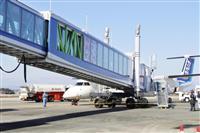 小型機の乗降らくらく 宮崎空港に新旅客搭乗橋