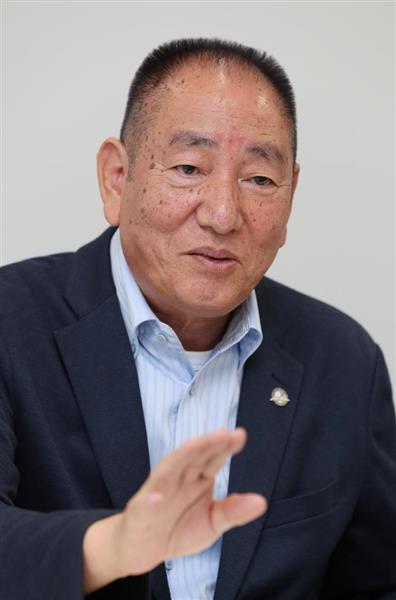 奥茂治氏(飯田英男撮影)