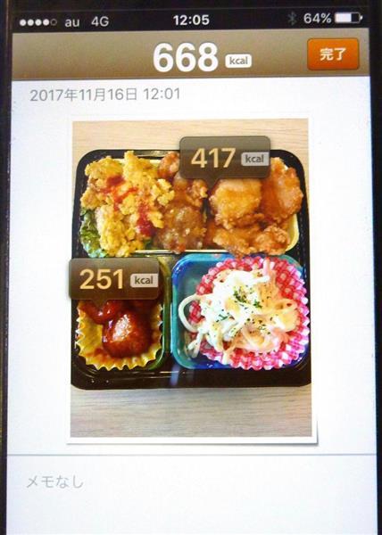 食事 カロリー 計算