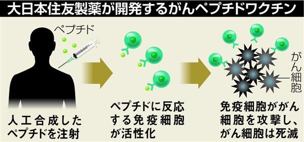 【治験】悪性脳腫瘍に免疫治療薬 大日本住友が4年後の実用化目指し臨床試験 ->画像>6枚