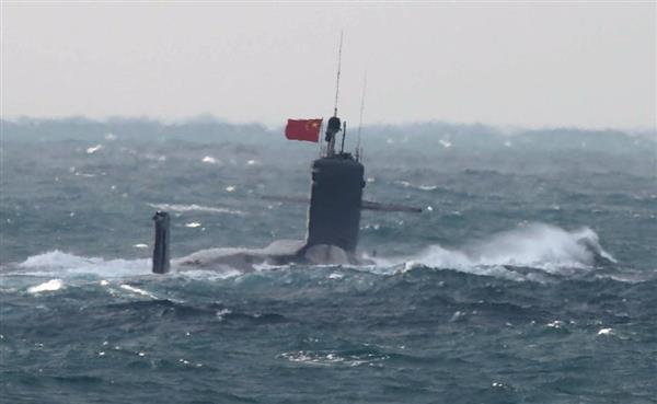 尖閣接続水域に進入した「商」級中国原潜、米空母を排除する重要な一角 ...