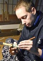 日本刀の伝統技法「肥後拵」守るスウェーデン人、コガ・ハンスさん 震災後も熊本在住