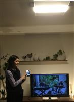 パナ、音響スピーカー搭載のLED照明を開発