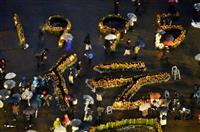 【動画】阪神大震災23年 犠牲者6434人に黙祷 鎮魂と継承を願う1日 復興の歩み、次…